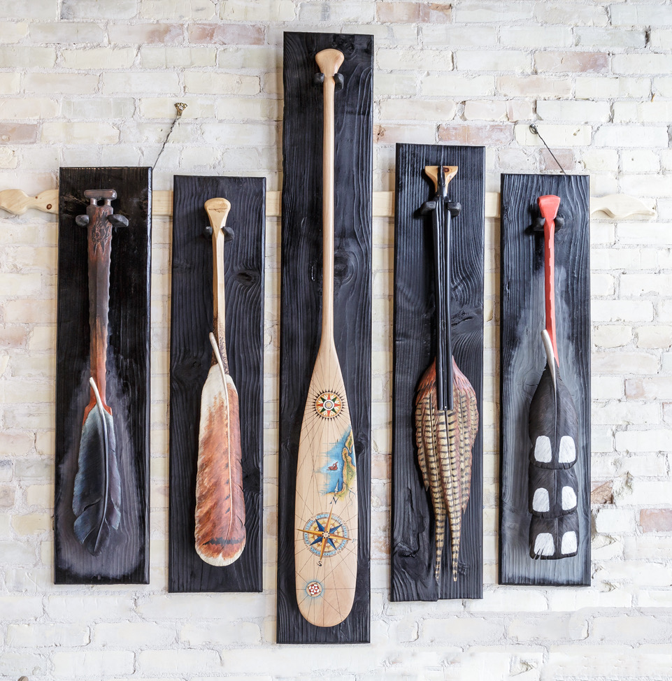 Paddles by Cindy McCune
