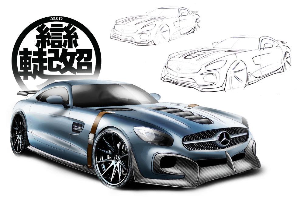 Mercedes AMG GTs Front Design Render.jpg