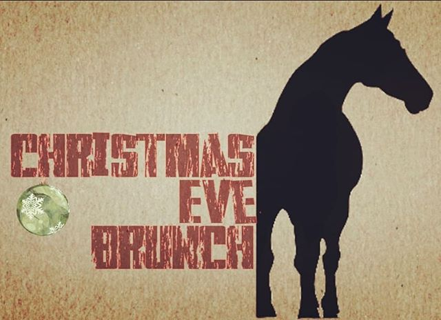 We will be open for  Brunch 11am-4pm on Christmas Eve. That is This Monday!  Reservations are strongly encouraged but not required!