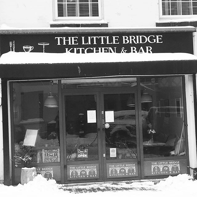Snowy little Bridge