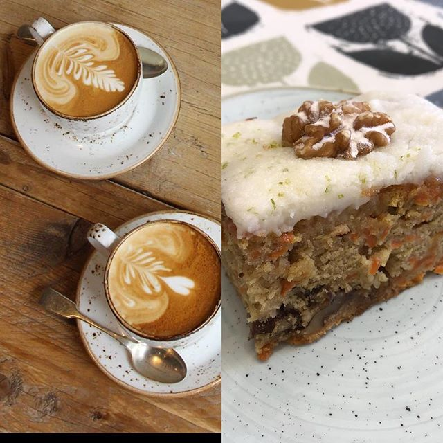 Coffee & cake pit stop open weds-sat 9-4