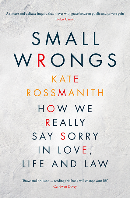 Small Wrongs by Australian author Kate Rossmanith
