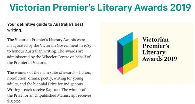 Small Wrongs received a highly commended in the Victorian Premier's Literary Awards 😊. Huge congrats to all the shortlisted authors. #victorianpremiersliteraryawards