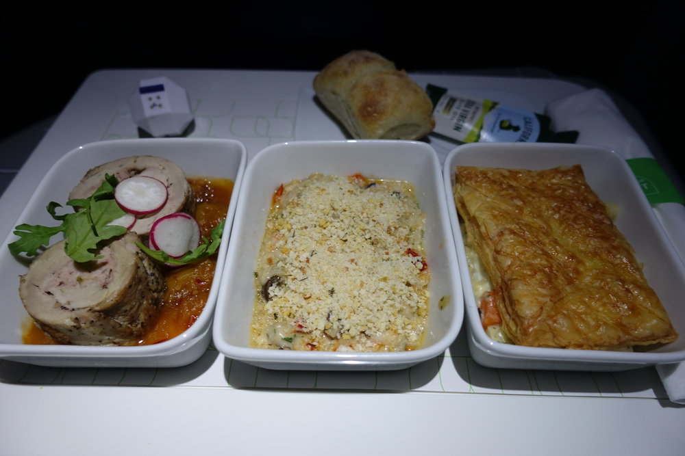 JetBlue Mint Food