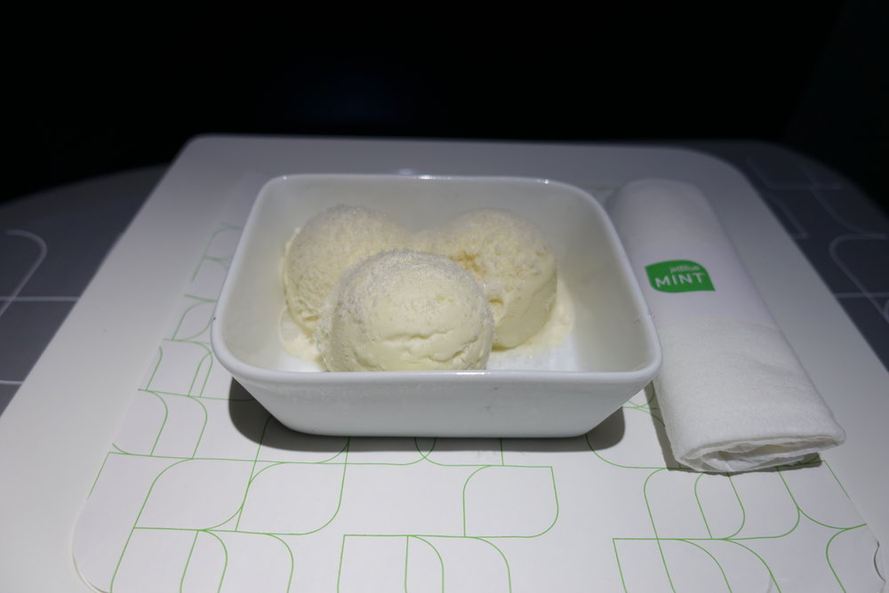 JetBlue ice cream