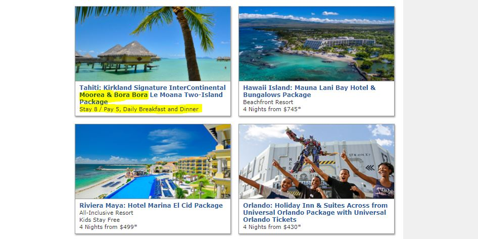 Ending Soon Costco Travel Deal To Bora Bora AskSebby - Costoc travel
