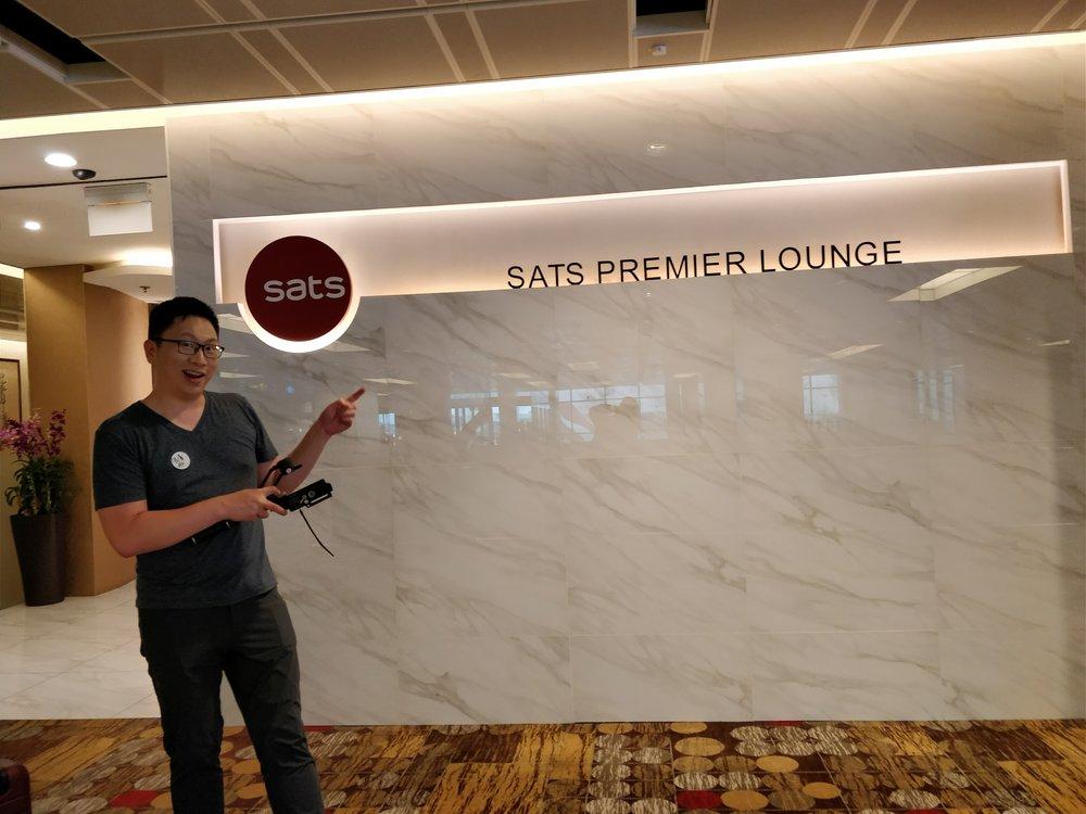 SATS Premier Lounge: Terminal 1