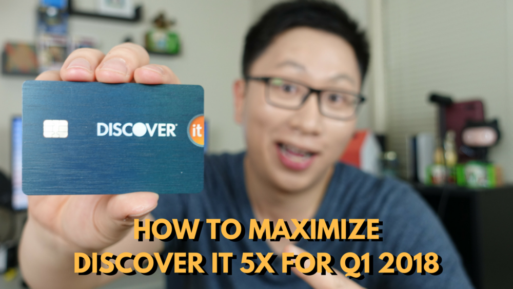 How to Maximize the Discover It 5% Bonus for Q1 2018: Gas Stations and Wholesale Clubs