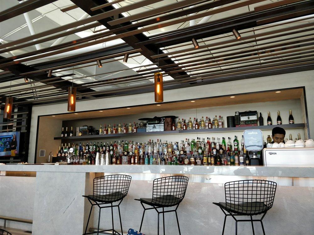 premium bar area
