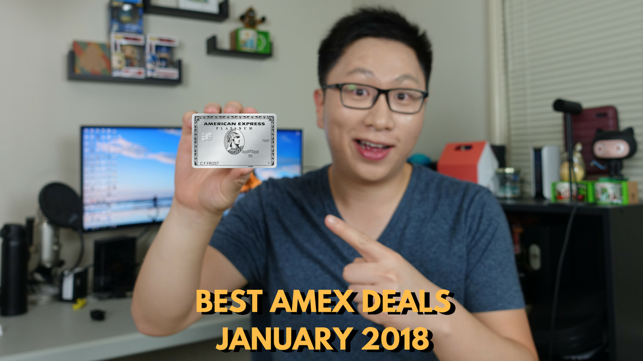Best American Express Tech and Travel Offers January 2018 (Targeted)