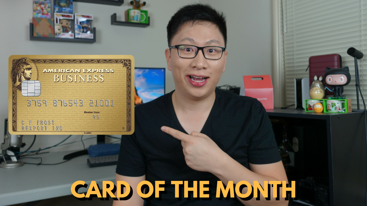 Card of the Month: American Express Business Gold Rewards Credit Card