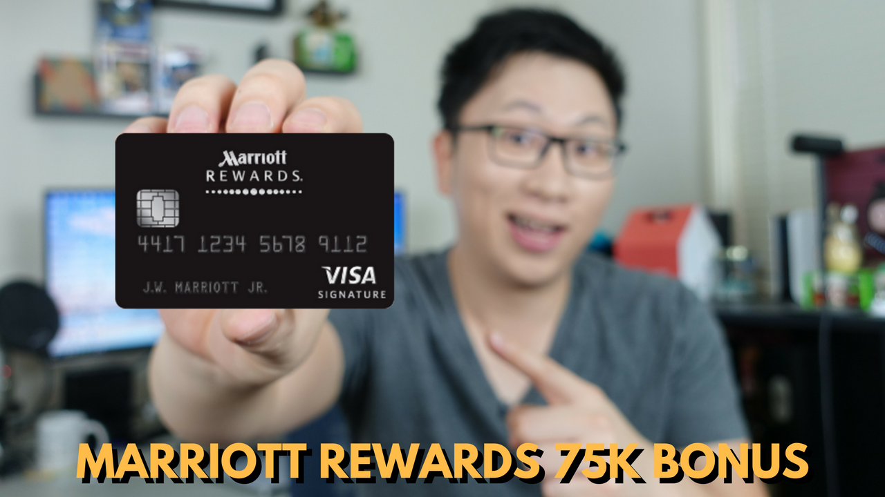 Analysis: Chase Marriott Rewards Premier Credit Card (75,000 Point Signup Bonus)