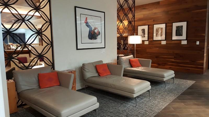 Centurion lounge nap nooks