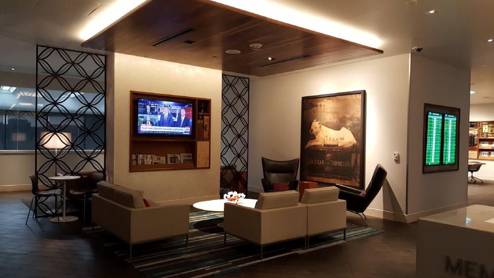 Centurion Lounge Lobby