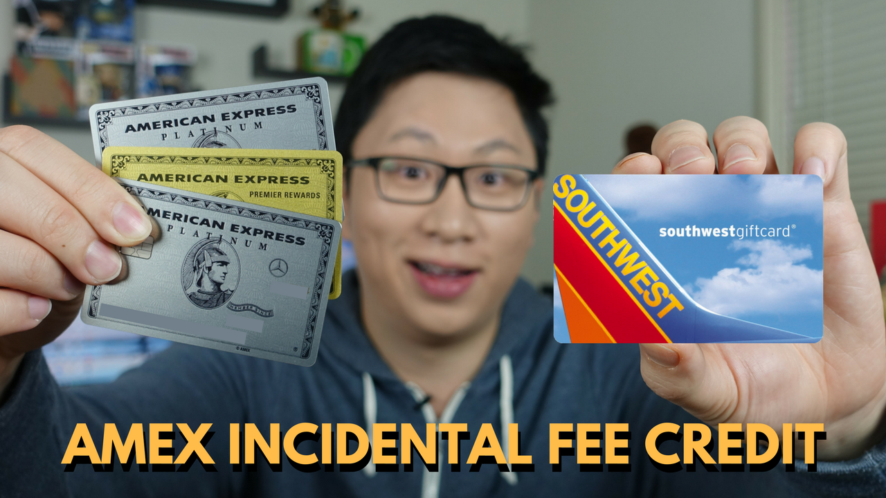 How to Buy Gift Cards with the American Express Airline Incidental Fee Credit