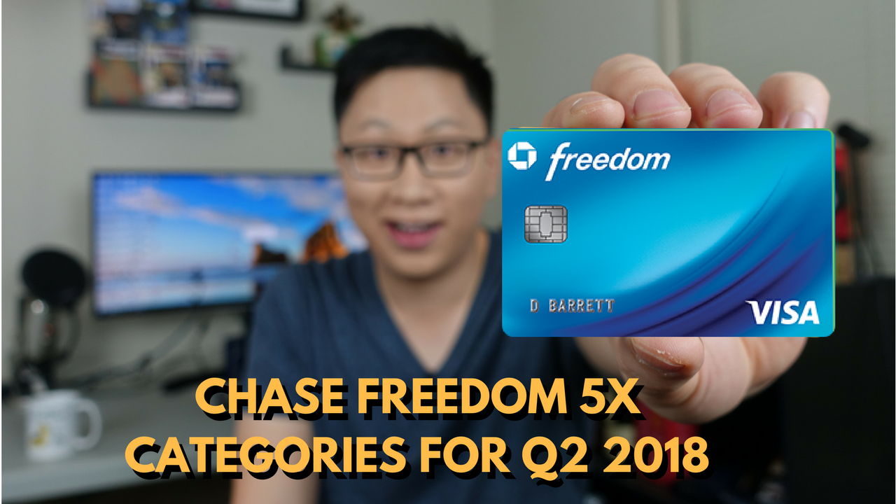 How to Maximize the Chase Freedom 5x Bonus for Q2 2018: Grocery Stores, PayPal, and Chase Pay