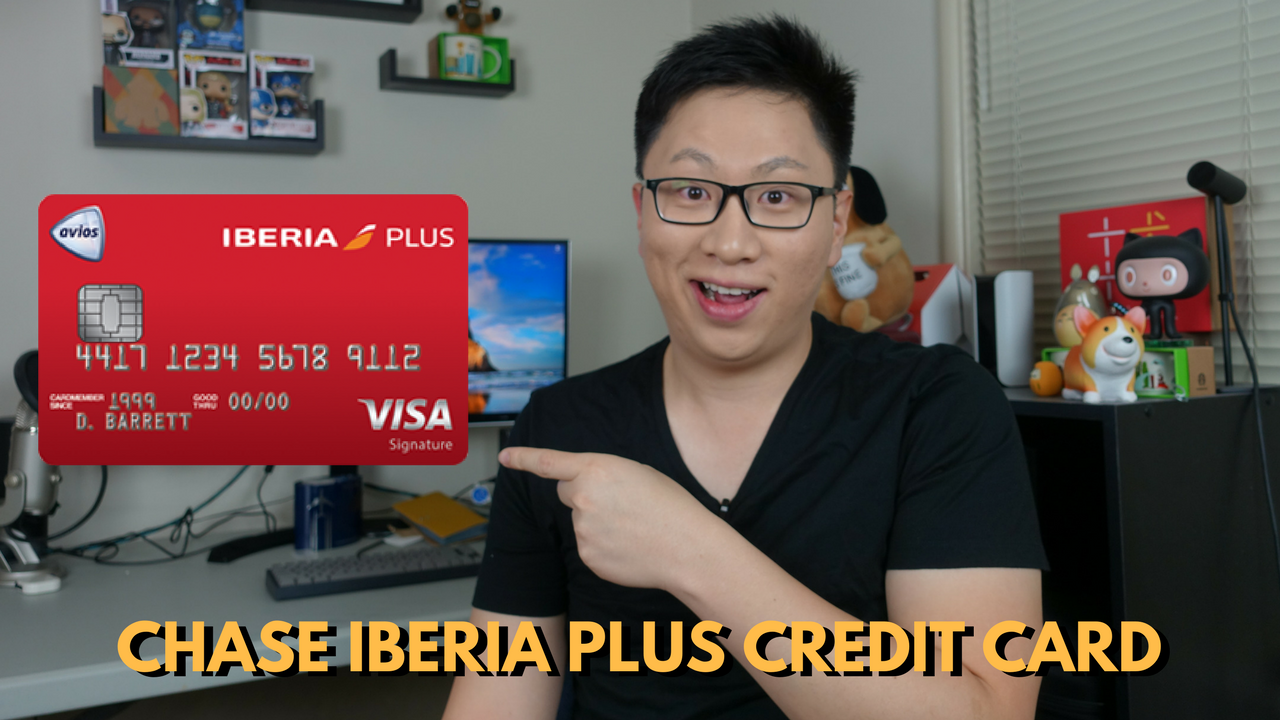 New Chase Iberia Plus Credit Card