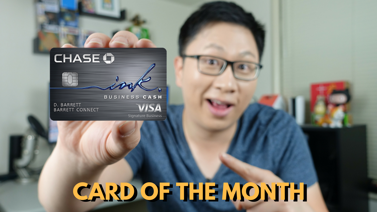 Card of the Month: Chase Ink Cash Business Credit Card (Historic High 50k Offer)