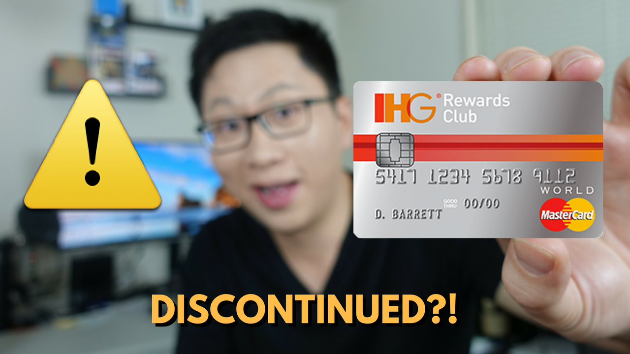 Chase IHG Rewards Club Select Credit Card Application Links Disappearing