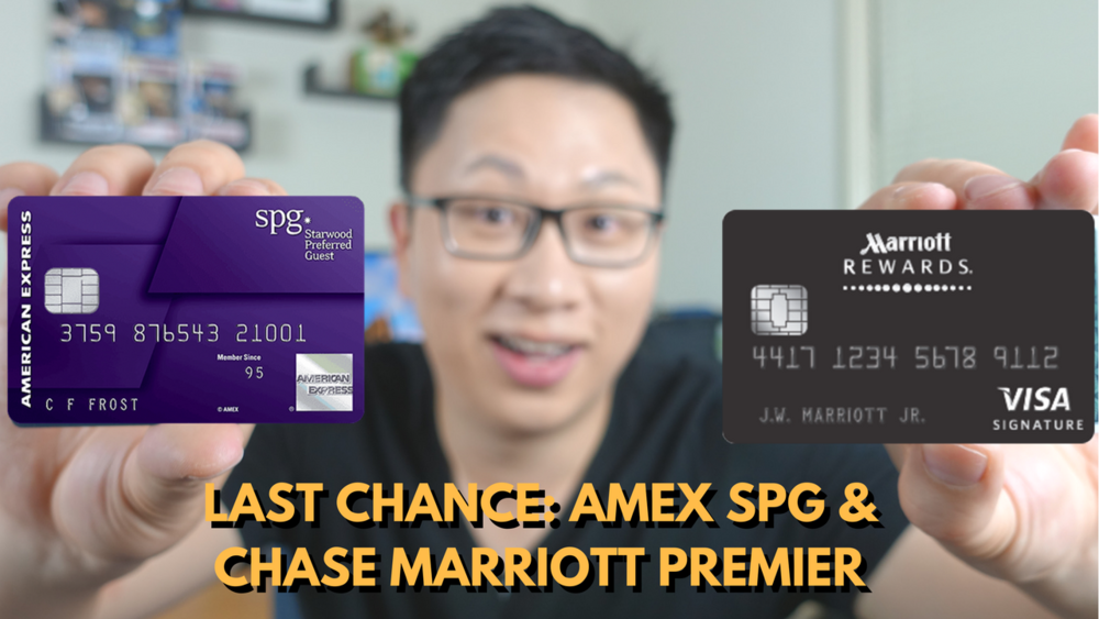 Should You Sign Up for the Chase Marriott Rewards Premier and Amex ...
