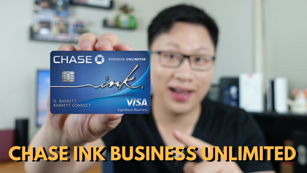 Chase Ink Business Unlimited Credit Card Review — AskSebby