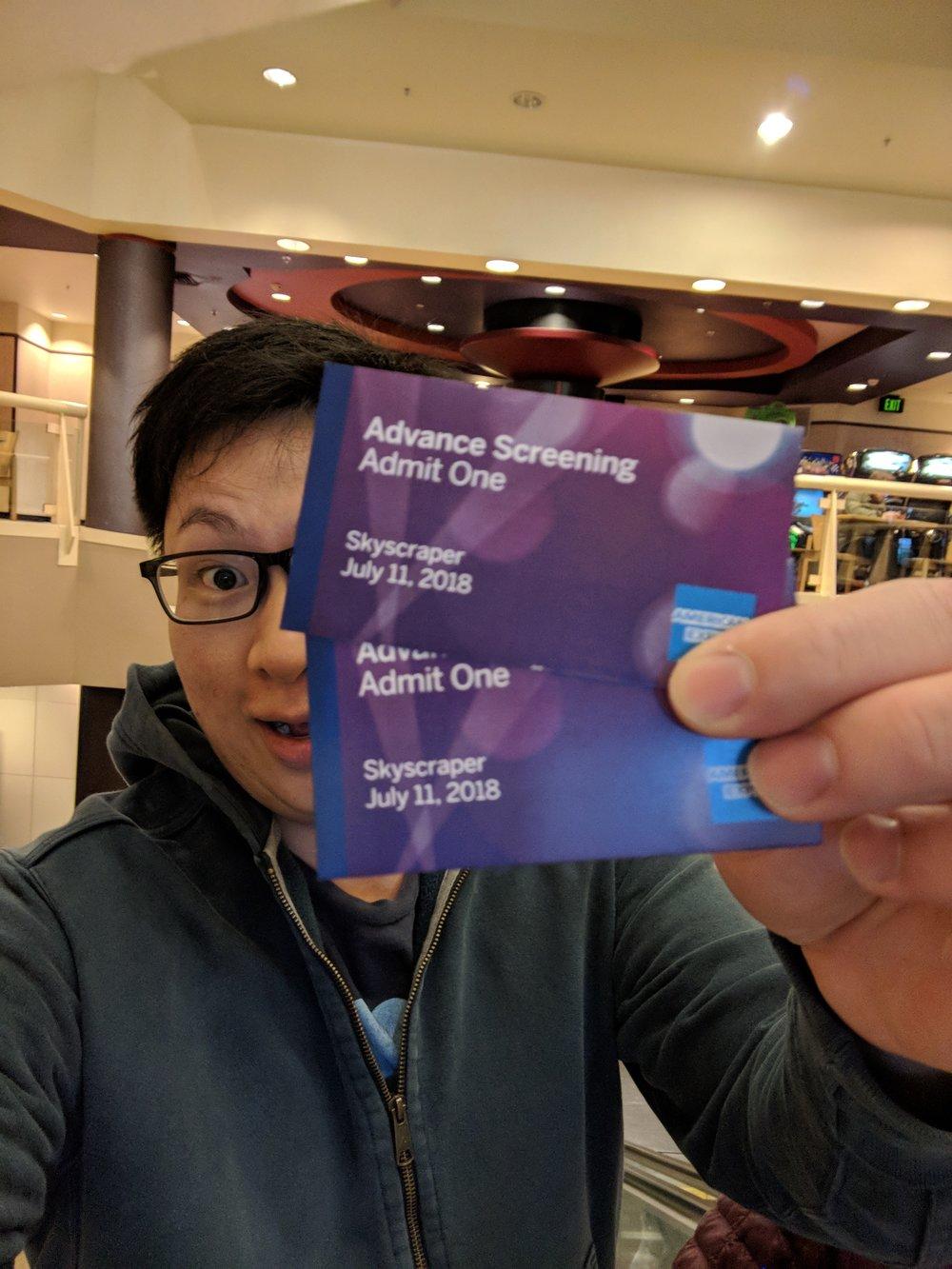 Amex Advance screenings