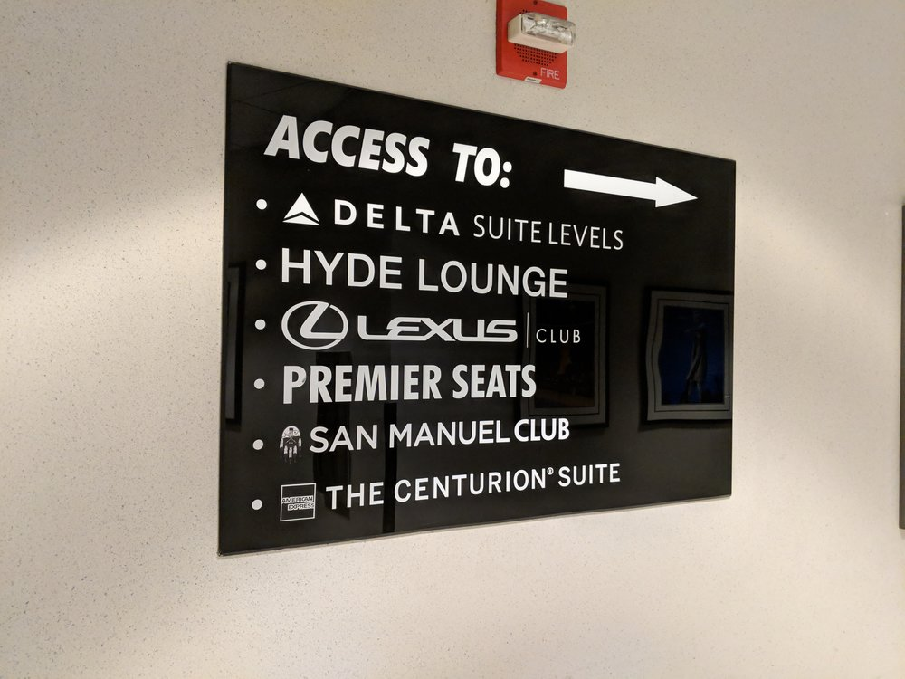 sign to the suites