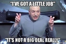 big job little job meme