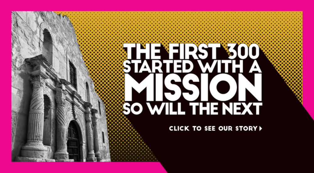 The community is encouraged to apply online at www.sanantonio300.org to become a part of San Antonio's 300th anniversary.