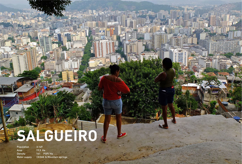 Working within a smaller area of the wider favela, the research here focussed on how the system could be integrated in to a neighbourhood, creating a comprehensive and sustainable system.