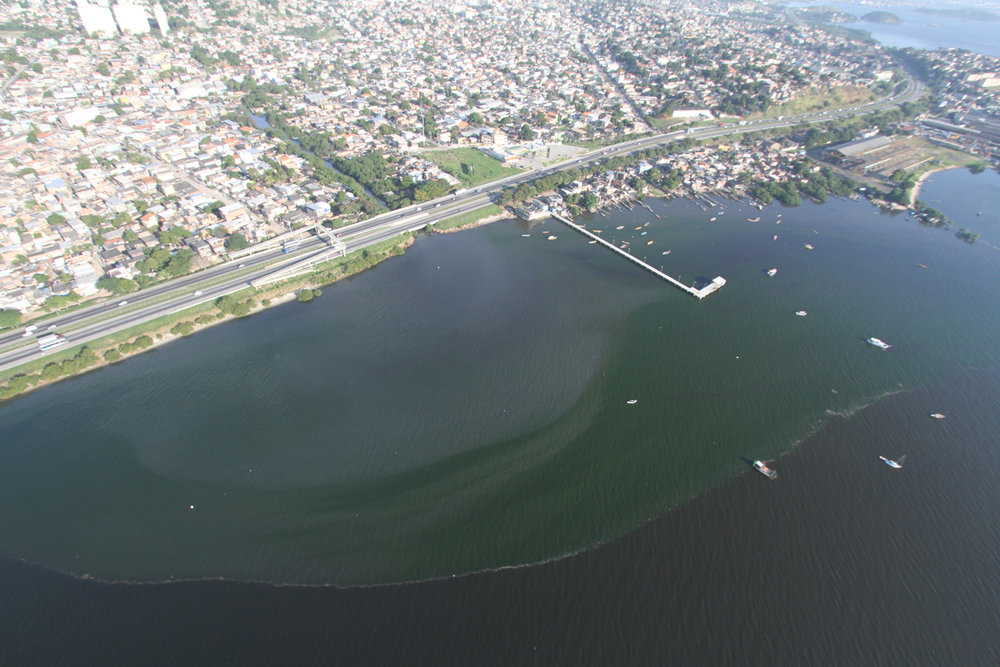 Approximately 20,000 litres of human waste flows in to the Guanabara Bay per second.