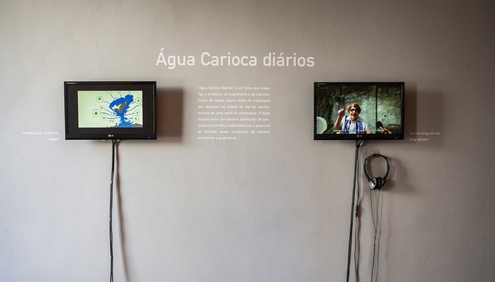 Films explaining Água Carioca and how it works -