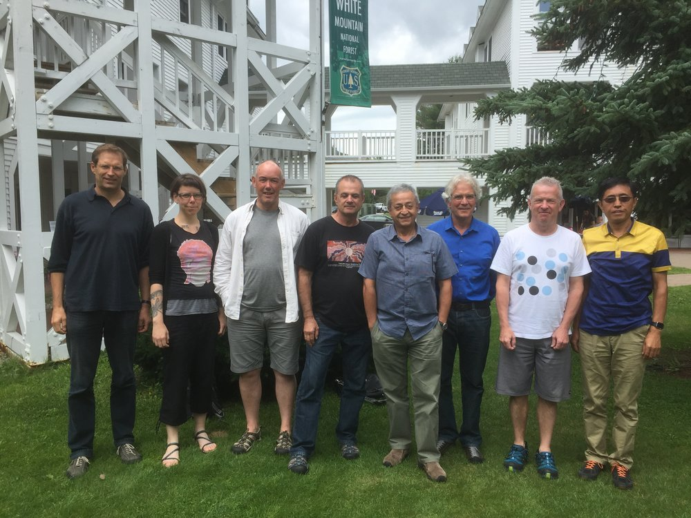 From left to right: Ulf Riebesell, Sinead Collins, Jonathan Havenhand, David Hutchins, Jorge Navarro, Jean-Pierre Gattuso, Philip Boyd, Kunshan Gao