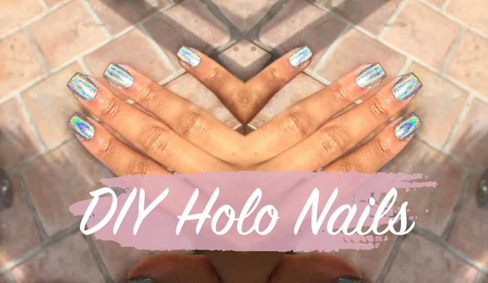 diy-holographic-nails