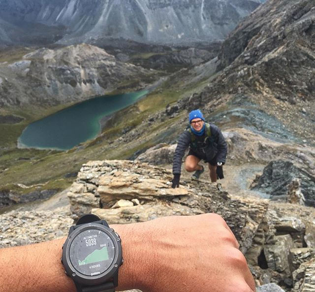 Scouting the course for an upcoming VK in Yading. 5000m! #China #Sichuan #Yading #Chenresig #trekking #mountains #highaltitude #trailrunning #vk #verticalkilometre #5000m #climbing #coursedesigning #xempower #miguxempower #garmin #fenix3 #yadingskyrun #skyrunning #skyrunnerworldseries #chinamountaintrails