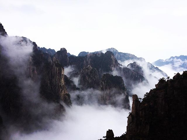 Huangshan recce, the mountains and mist in all their glory...
