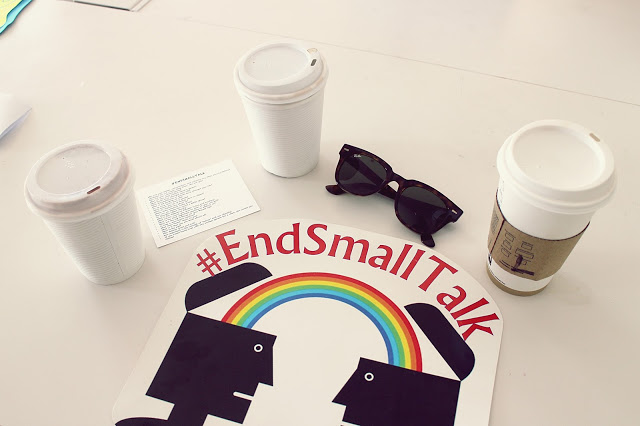 End Small Talk In The Space, Abu Dhabi