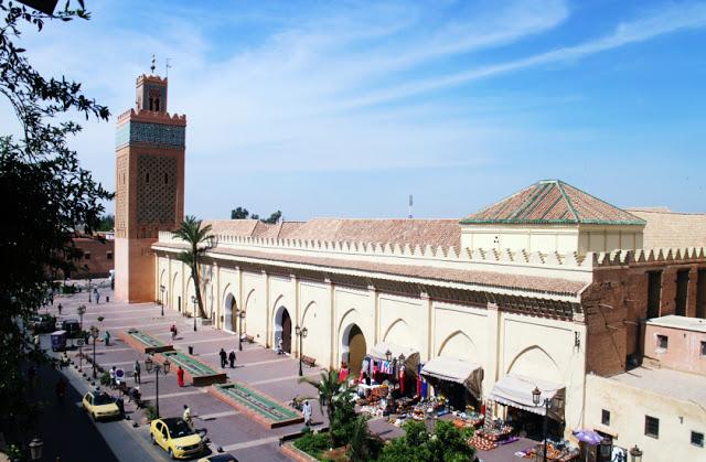 Kasbah mosque, Marrakech, Morocco
