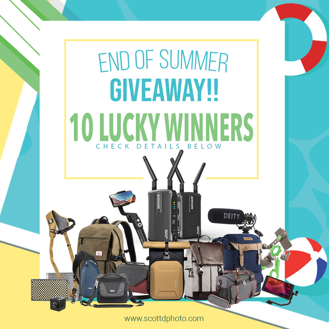 online contests, sweepstakes and giveaways - End of Summer Giveaway — Scott Dumas