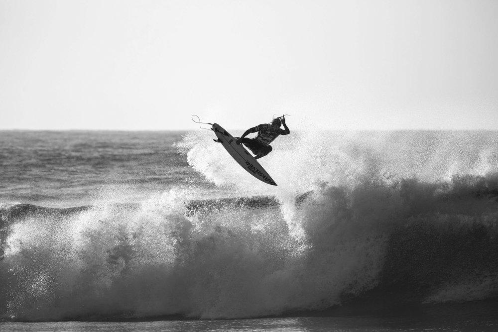 Photo: Mikey Wright by Alan Van Gysen. Text by Alexei Obolensky.