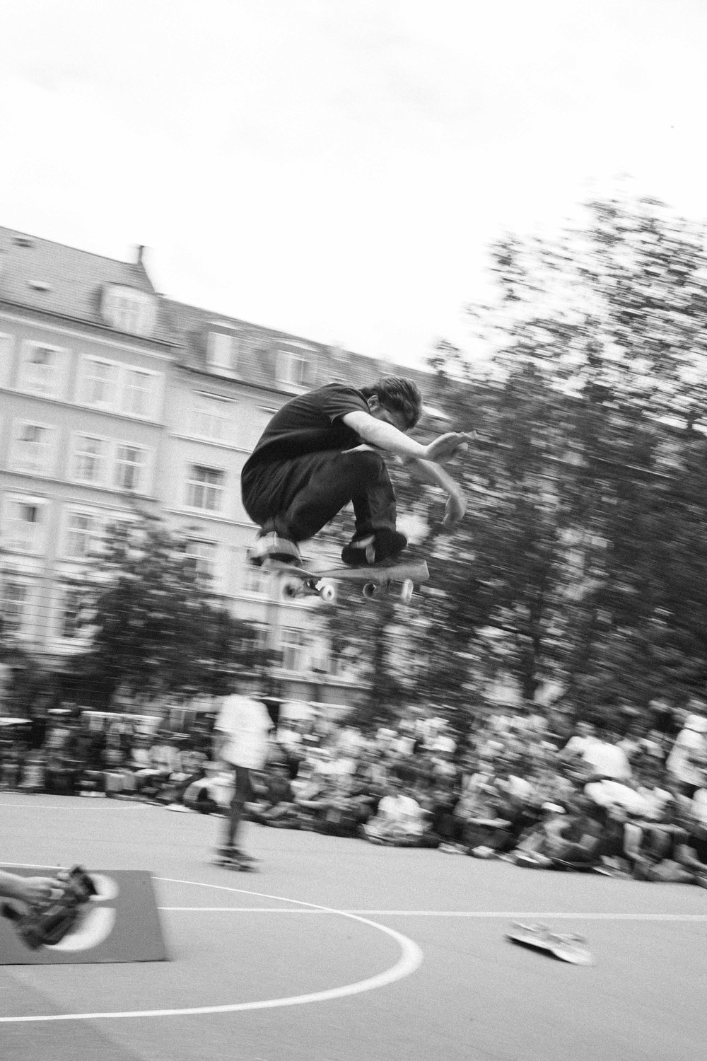 Yuri Facchini, and his infamous shifty flip. Photography by Luca Werner.