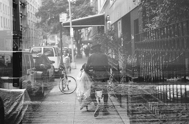 Double exposure via our man on the ground in NYC @yojohno