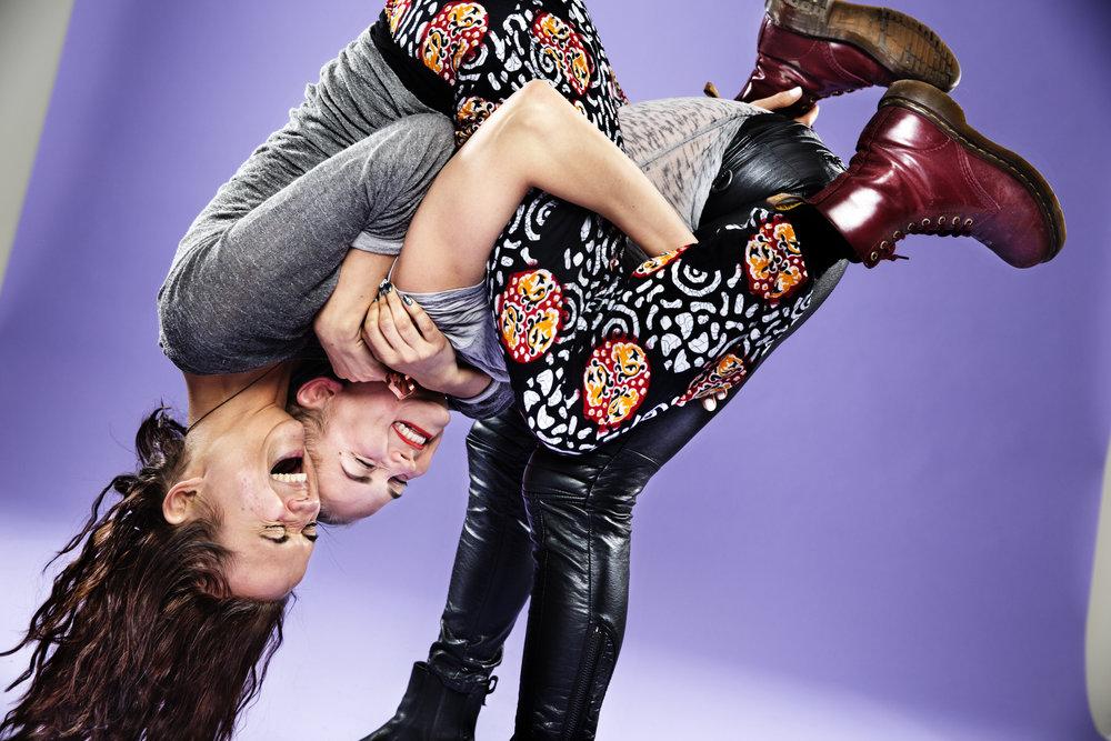 Bianca och Tiffany Kronlöf