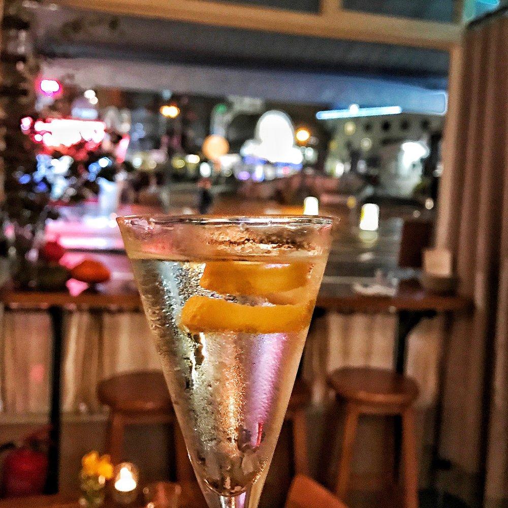 A Martini at Oldroyd