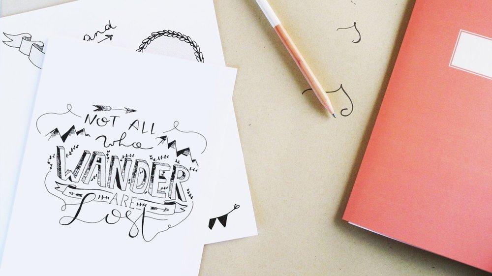 Workshop-Handlettering