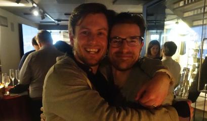 Calle og Steve, våre Spiffy Co-founders!