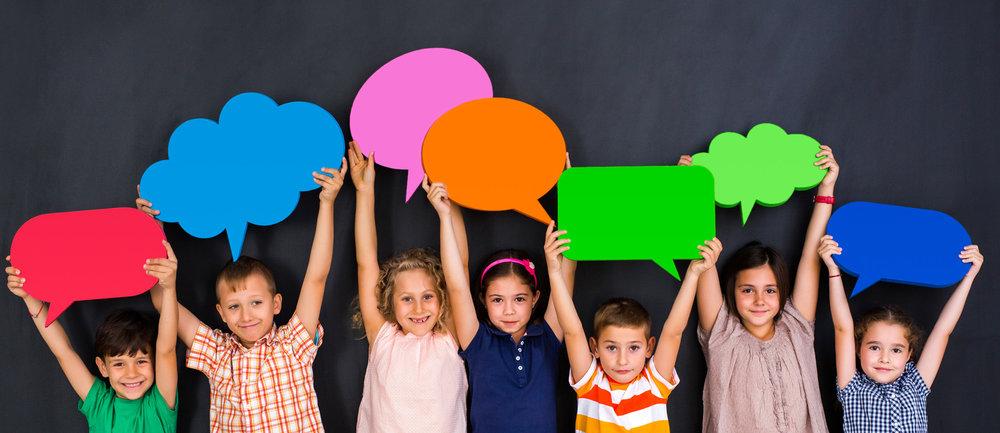 Velkommen til Barnas språksenter   Hjelp med språk og spising.   Les mer om oss