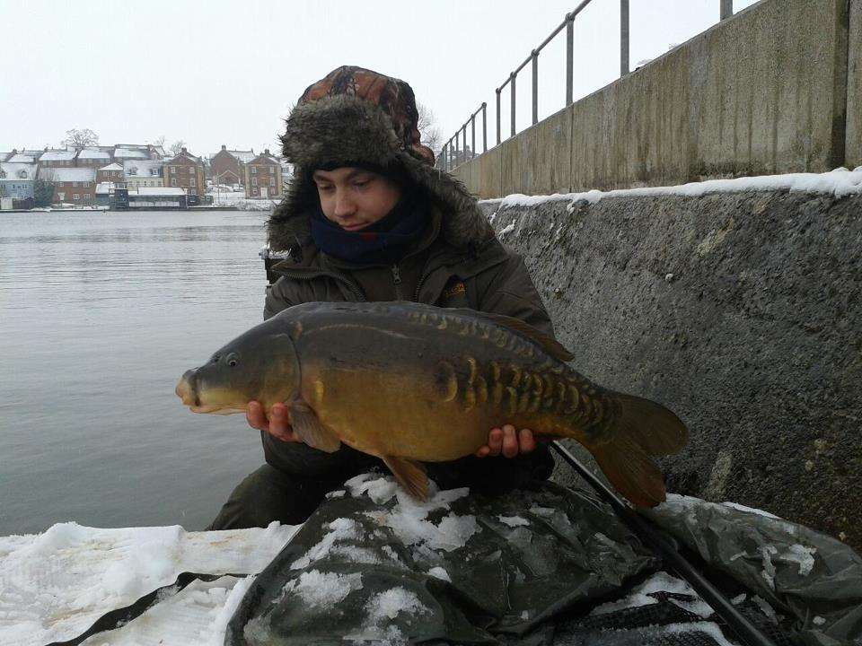 The fish are catchable all year round