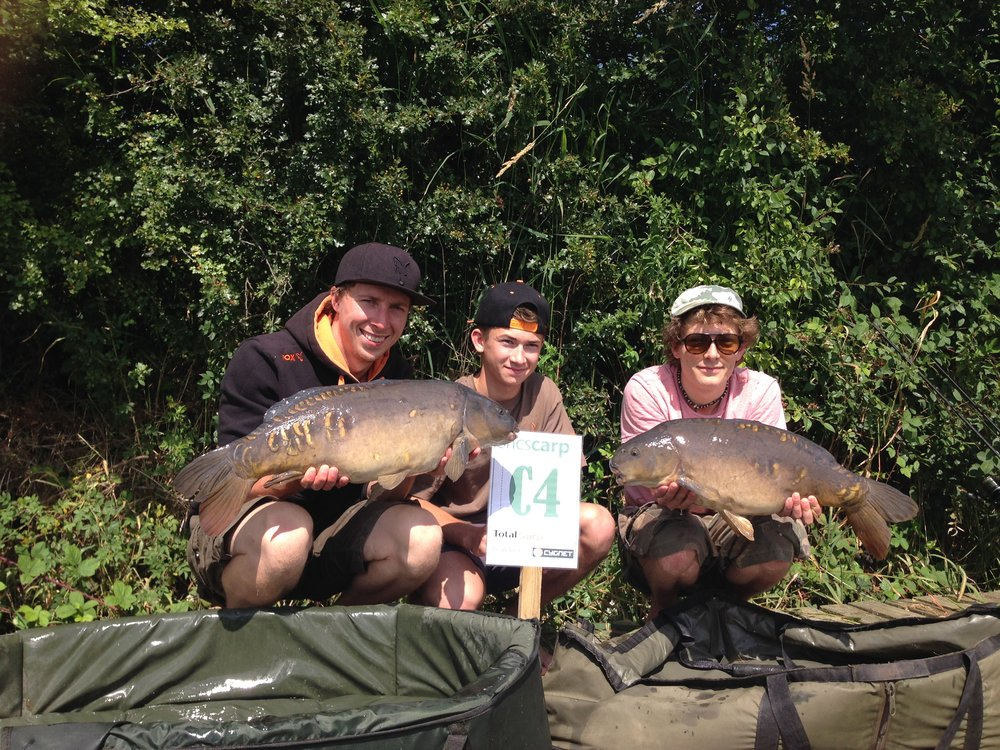 Drayton is a favourite on the carp-match circuit