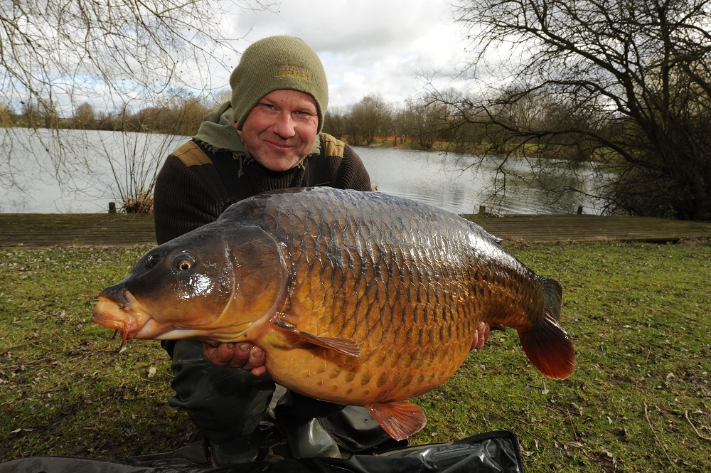 This 36lb 13oz common was one of two specimens in quick succession